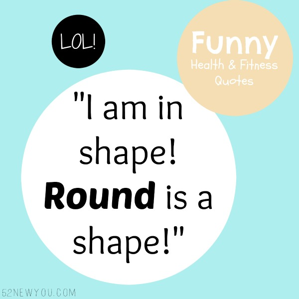 Funny Health And Fitness Quotes